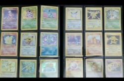 Lot Of 25 Vintage Pokemon Cards - Wotc Sets Only 1st Edition Rare And Holo Rare