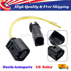 Outer Ambient Air Temperature Sensor With Plug Pigtail Fits For Vw Passat Audi