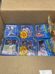 Lot Of 17 - 1991 Donruss Baseball Rack Pack Series 1 Puzzle And Cards - Lot1962