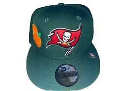 Lord Fubu Tampa Bay Buccaneers Fitted New Era Cap Size 7 1/2 Red Uv Watermelon