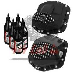 Differential Cover Compatible With Jeep Wrangler Jl 2018-21 Afe Power