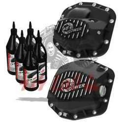 Differential Cover Fit Jeep Wrangler Jl 2018-20 Afe Power