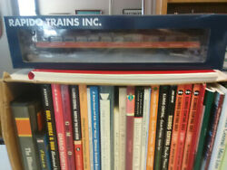 Illinois Central Icrr Rapido 4101 48 Seat Dining Passenger Car Ho New Item.