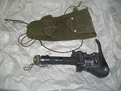 Pneumatic Military Rescue Hand Tool Us Navy W/ Nitrogen Cylinder