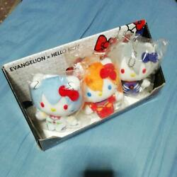 Seven-eleven Limited Evangelion X Hello Kitty Collaboration With Box
