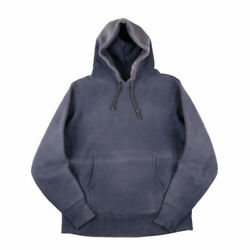 Champion 70s Vintage Reverse Weave Sweat Hoodie Solid Color Tag Navy Size S Tops