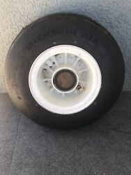 Overhauled Military Fighter Jet Nose Wheel And Tire Assembly