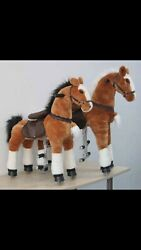 75 New Toys Up Ride Horse/pony Ride Ages 2-5 8-13 Boys And Girls