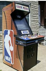 1993 Nba Jam Tournament Edition Arcade Game - Excellent Looking And Working