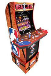 Arcade 1up Nba Jam Light-up Marquee Arcade Cabinet Wand039 Wifi | 3 Games In 1