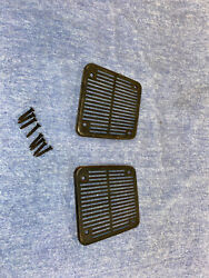1968 1969 Dodge Charger Plymouth Gtx Three Speaker Grilles Grates Dash B-body