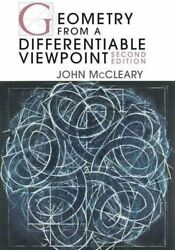 Geometry From A Differentiable Viewpoint By John Mccleary 2012 Hardcover...