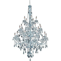 7925 Verona Collection Chandelier D43in H57in Lt25 Chrome Finish Royal Cu...