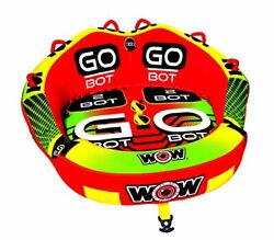 Wow Watersports Go Bot Towable 1 To 2 Riders Front And Back Tow Points Towabl...