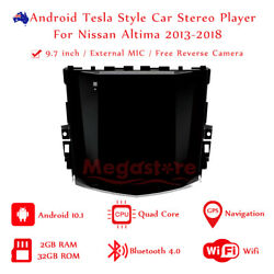 9.7 Android Tesla Style Non-dvd Car Player Gps For Nissan Altima 2013-2018