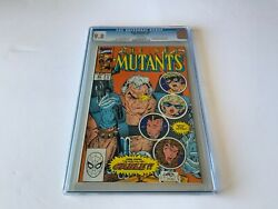 New Mutants 87 Cgc 9.8 White Pages 1st Appearance Cable Marvel Comics 1990