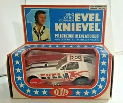 Ideal Precision Miniatures Evil Knievel Funny Car In Box