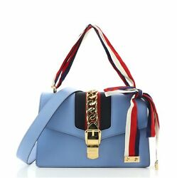 Gucci Sylvie Shoulder Bag Leather Small $1116.00