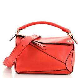 Loewe Puzzle Bag Leather Small