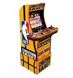 Arcade1up Chinatown Market Nba Jam Limited Edition W/riser New Factory Sealed