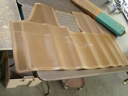 Nos Oem 1964 Chevy Corvair Front Floor Mat Chevrolet Tan Rubber 1962 1963 1965
