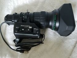 Fujinon A13x6.3brm-sd Wide Tv Zoom Lenses For 2/3 Format Cameras With B4 Mount