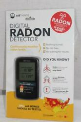 Airthings Digital Radon Detector Battery Operated - New