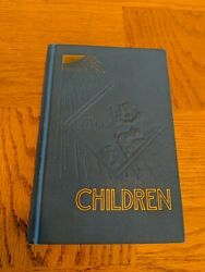 Vintage 1941 Children Rainbow Watchtower J.f.rutherford Jehovah's Witnesses