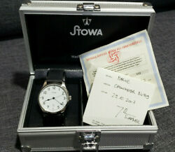 Mint Stowa Marine 40mm Automatic S. Steel Mens Watch - Box And Papers