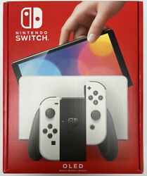 Nintendo Switch Oled Model White - In Hand - Ships Free Priority Today