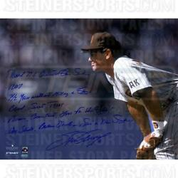 Steve Garvey San Diego Padres Stands Ready Signed 16x20 Story Photo
