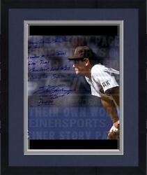 Framed Steve Garvey Padres Stands Ready 16x20 Story Photo And 1984 Nlcs Mvp Insc