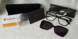 Tom Ford Sunglasses Ft5641b 054 53 Double Clip On Blue Light Blocking Opticals