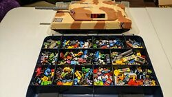 Vintage Micro Machine Lot Of 400+ Hot Wheels Galoob Mattel And Others + Tank