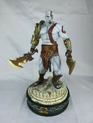 Sideshow Collectible God Of War Kratos Polystone Maquette- Exclusive 434/550