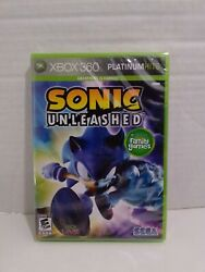 Sonic Unleashed Microsoft Xbox 360 2008 - Brand New Factory Sealed -