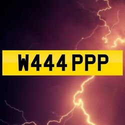 W444 Ppp Private Number Plate Wap Girls Fun Funny Vw Audi Bmw My G Rude
