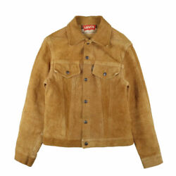 Leviand039s 60s Vintage Big E Suede Jacket Brown Third Type Menand039s Outerwear