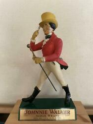Johnnie Walker Scotch Whiskey Oversized Store Display Doll About 40 Cm Very Rare