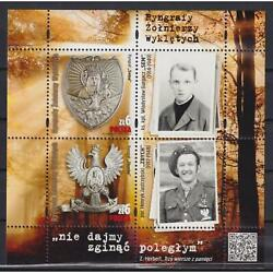 Poland 2020 Gorgets Of Cursed Soldiers Mnh Pl5193ml-40417 Medals