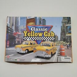 Lot Of 12 Classic Yellow Cab Nyc Taxi Diecast Cars With Box 2001