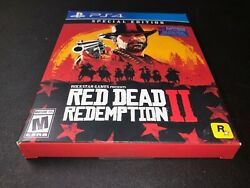 Sony Playstation 4 Ps4 Red Dead Redemption 2 Special Edition - Free Shipping