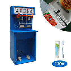 Ts-80 1.8kw Pneumatic Tube Sealing Machine For Cream, Cosmetic ,toothpaste, 110v
