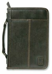 Aviator Cross Leather Look Brown XL Book and Bible Cover Protective Case X Large $27.95