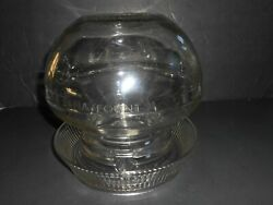 Vintage Depression Large Glass Chicken Waterer Feeded Base And Top