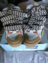 Lanvin Curb Sneaker Sz 45 Sold Out Colorway And Sold Out Laces Gallery Dept
