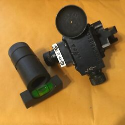 Vintage Mo's Target Sight Set For Winchester 52 More Not Redfield, Lyman
