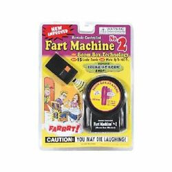 New - Remote Control Fart Machine 2 By T.j. Wiseman - Free Shipping