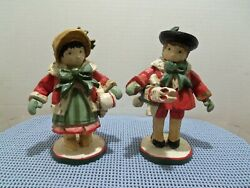 1991 House Of Hatten Victorian Boy And Girl By Denise Calla