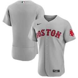 Boston Red Sox Nike Gray Authentic Team Jersey Xl